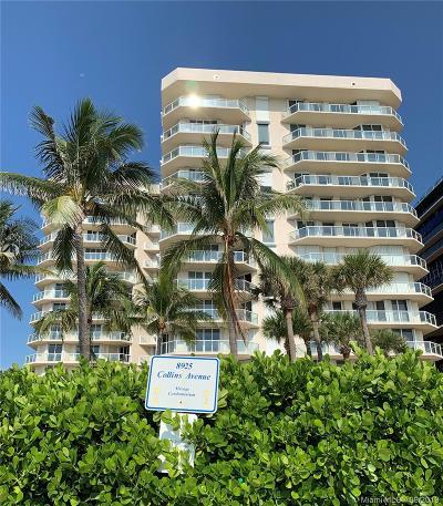 Surfside Rental For Rent: 8925 Collins Ave #4E