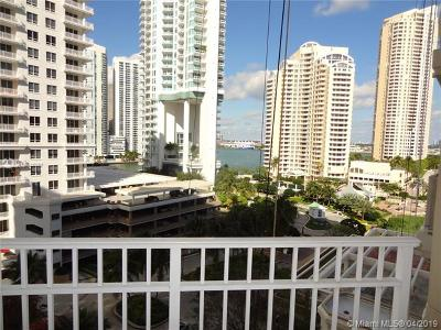 Miami Condo For Sale: 701 Brickell Key Blvd #1107