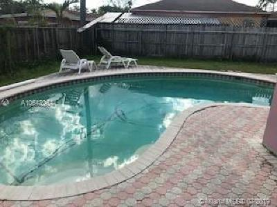 Cutler Bay Single Family Home For Sale: 18600 SW 97th Pl