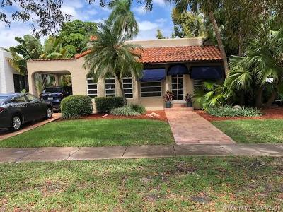 Coral Gables Single Family Home For Sale: 1309 Obispo Ave