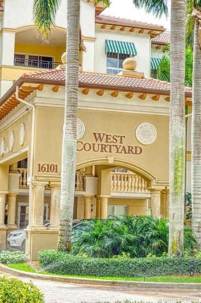 Weston Condo For Sale: 16101 Emerald Estates Dr #142