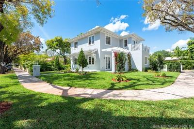Coral Gables Single Family Home For Sale: 1100 Cordova St