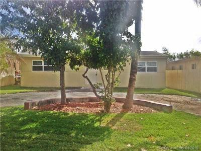 Fort Lauderdale Single Family Home For Sale: 3540 SW 12th Pl