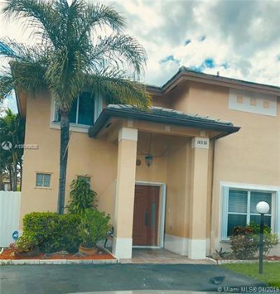 Miami Gardens Single Family Home For Sale: 18536 NW 56 Pl
