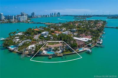 Miami Beach Residential Lots & Land For Sale: 436 W Rivo Alto Dr
