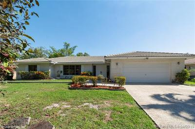 Coral Springs Single Family Home For Sale: 9935 Ramblewood Dr