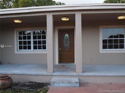 Opa-Locka Single Family Home For Sale