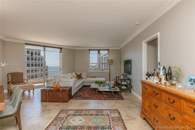 Miami Condo For Sale: 701 Brickell Key Blvd #1512