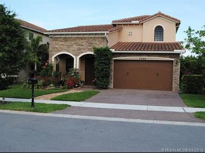 Parkland Single Family Home For Sale: 7364 NW 112 Terrace