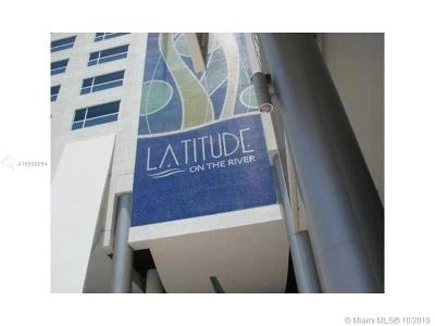 Latitude On River, Latitude On The River, Latitude On The River Con, Latitude On Theriver, Latitude/River Condo, Lattitude On The River Condo For Sale: 185 SW 7th St #2100
