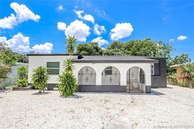 Opa-Locka Single Family Home For Sale: 1230 Sharazad Blvd