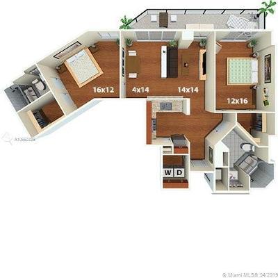 Rental Leased: 1500 Bay Rd #C-2512