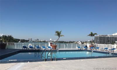 Miami Beach Condo For Sale: 6770 Indian Creek Dr #8-E