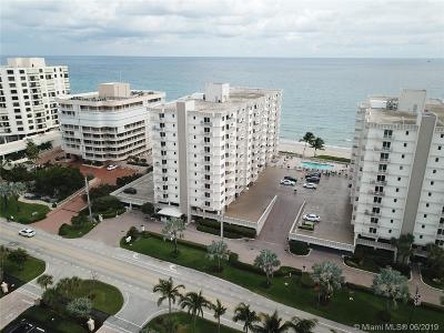 Highland Beach Condo For Sale: 3215 S Ocean Blvd #401