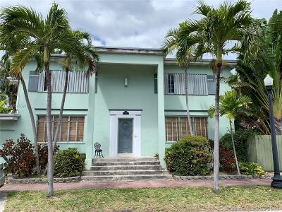 Miami Beach Single Family Home For Sale: 4300 Royal Palm Ave