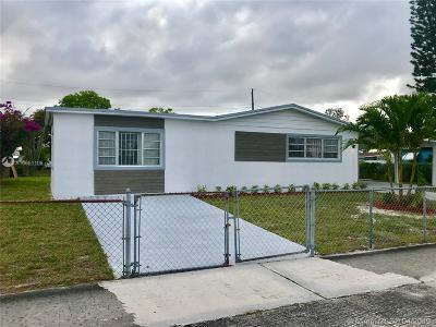 Miami Gardens Single Family Home For Sale: 20910 NW 32nd Ave