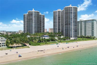 Fort Lauderdale Condo For Sale: 3200 N Ocean Blvd #408