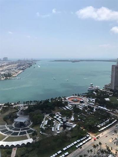 Miami Condo For Sale: 244 Biscayne Blvd #4707