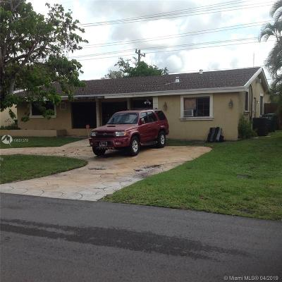 Miramar FL Single Family Home Pending Sale: $180,000