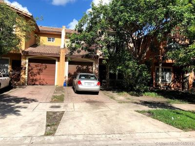 Florida City Condo For Sale: 865 SW 6th Pl