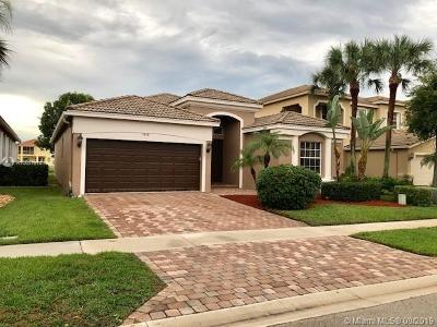 Lake Worth Single Family Home For Sale: 7458 Via Luria