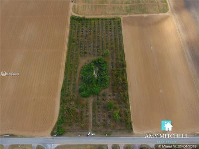Homestead Commercial Lots & Land For Sale: 19440 SW 296th St