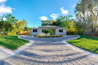 South Miami Single Family Home For Sale: 6634 SW 76th Ter