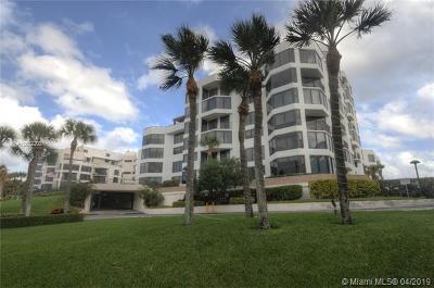 Highland Beach Condo For Sale: 2575 S Ocean Blvd #110S