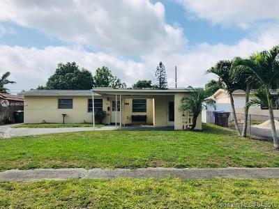 Hollywood Single Family Home For Sale: 7750 Simms St