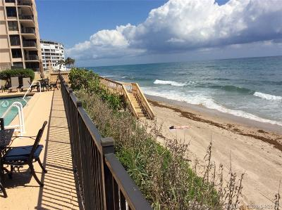 Palm Beach County Condo For Sale: 4000 S Ocean Blvd #504