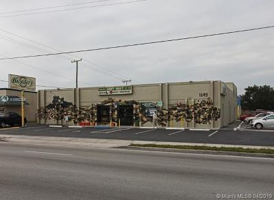 West Palm Beach Commercial For Sale: 1649 N Military Trl