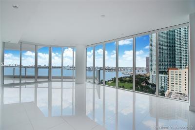 Paramount Bay, Paramount Bay Condo, Paramount Bay Miami Rental For Rent: 2020 N Bayshore Dr #1702
