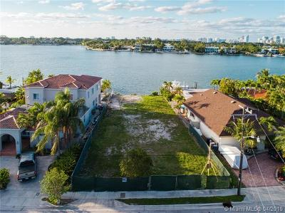 Miami Beach Residential Lots & Land For Sale: 1015 Stillwater Dr