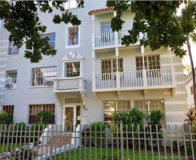 Miami Beach Condo For Sale: 842 SE Meridian Ave #2A