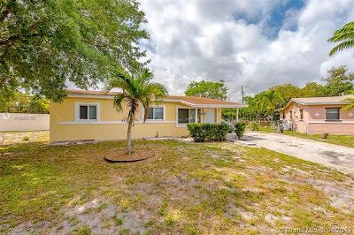 Fort Lauderdale Single Family Home Active With Contract