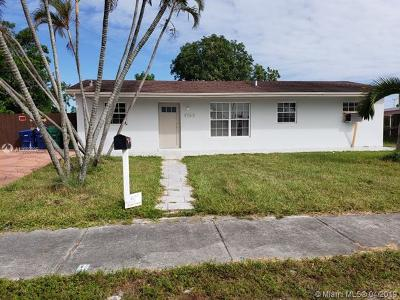Miami Gardens Single Family Home For Sale: 4765 NW 189 Ter