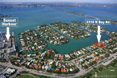 Miami Beach Residential Lots & Land For Sale: 2318 N Bay Rd