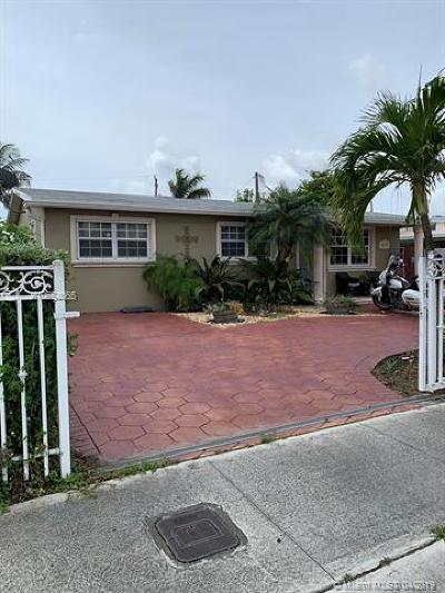 Hialeah Single Family Home For Sale: 874 W 37th St