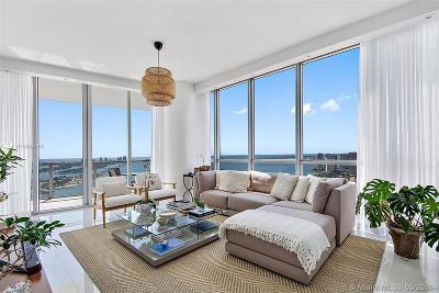 Miami-Dade County Condo For Sale: 1100 Biscayne Blvd #4701