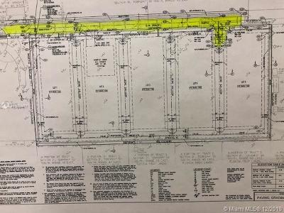 Broward County Residential Lots & Land For Sale: 15100 SW 26 St
