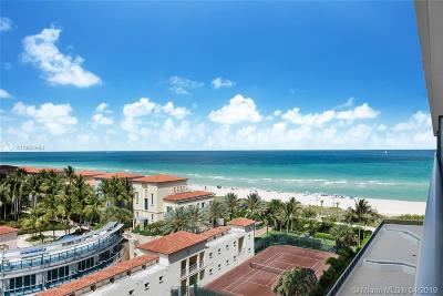 Miami Beach Condo For Sale: 5875 Collins Ave #907