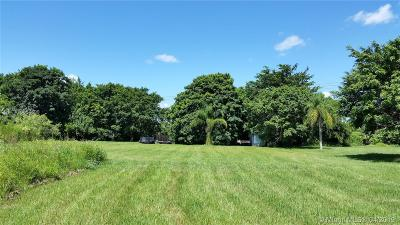 Broward County Residential Lots & Land For Sale: 15250 SW 20th St