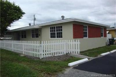 Hallandale Single Family Home For Sale: 413 SW 4th Ter