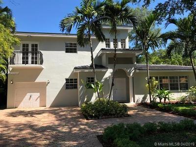 Coral Gables Single Family Home For Sale: 1429 Alegriano Av