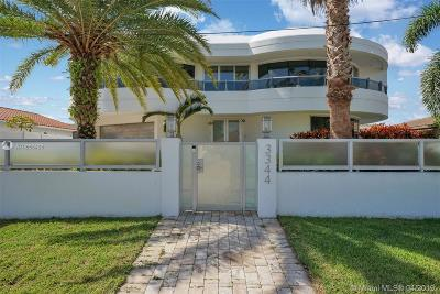 North Miami Beach Single Family Home For Sale: 3344 NE 167th St