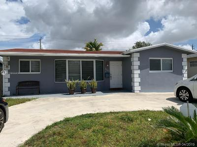 Hollywood Single Family Home For Sale: 4303 Hayes St