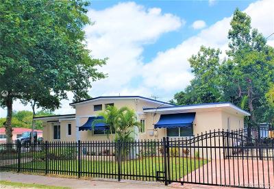 El Portal Single Family Home For Sale: 8901 N Miami Ave
