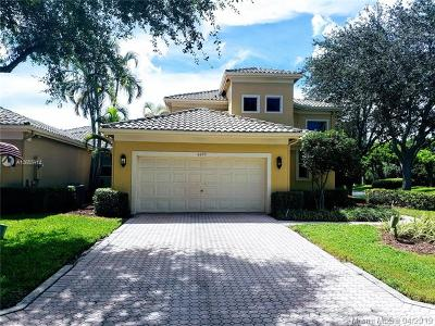 Palm Beach County Single Family Home Active With Contract: 6695 NW 23rd Ter