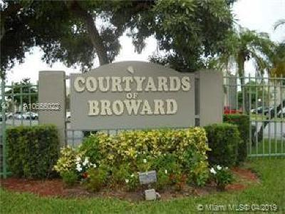 North Lauderdale Condo For Sale: 1810 SW 81st Ave #2202