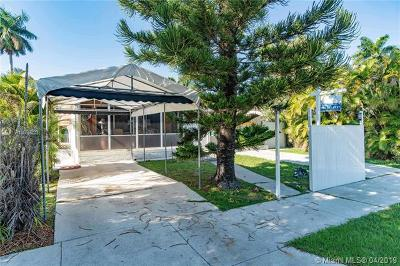Hollywood Single Family Home For Sale: 1335 Jackson St